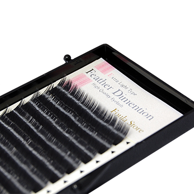 Feather Dimension 12 Lines J (B) Curl 14mm×0.06mm
