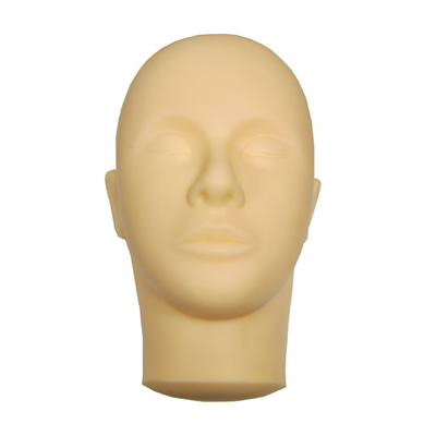 Mannequin head for practice (Without strips)