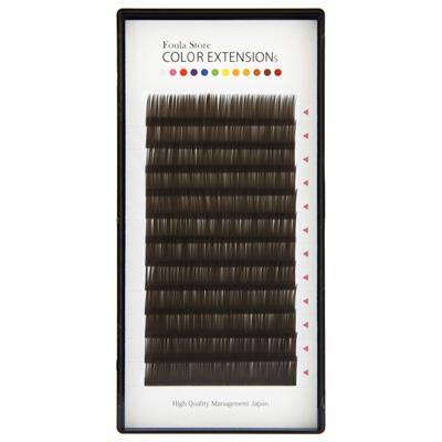 Color Volume Up Lash 12 Lines Dark Brown J (B) Curl 0.06mm×10mm