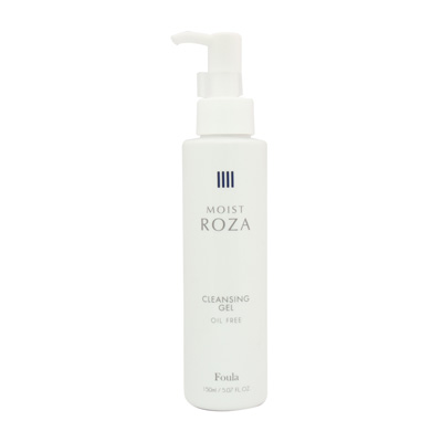 MOIST ROZA -Oil free facial and eye cleansing gel-