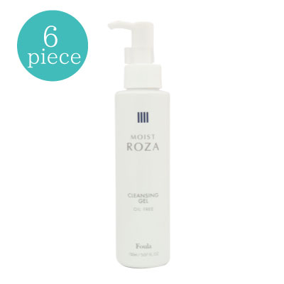 MOIST ROZA -Oil free facial and eye cleansing gel- (6 pcs)