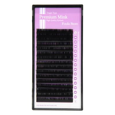 Premium Mink Touch 16 Lines D Curl 0.20mm×9-13mm MIX