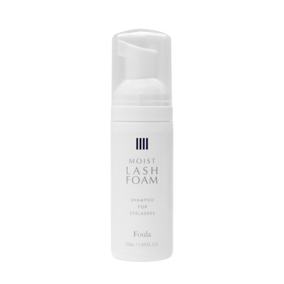 MOIST LASH FOAM -Foaming shampoo for lashes--1