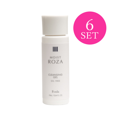 MOIST ROZA Cleansing Gel 19ml (6PCS)