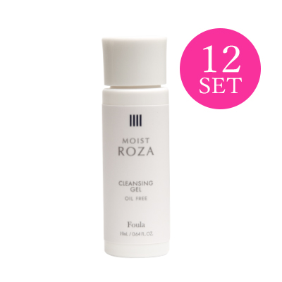 MOIST ROZA Cleansing Gel 19ml (12PCS)